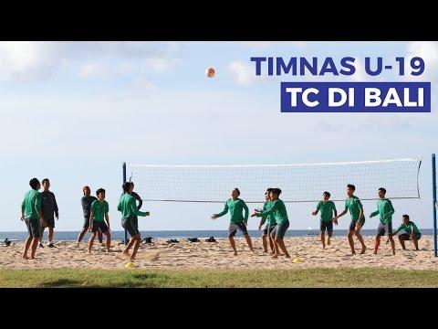 Tim Nasional Indonesia U-19 Melakukan Training Camp (TC) di Bali