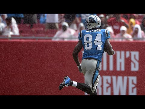 Jerseys NFL Cheap - Carolina Panthers TE Ed Dickson scores look-what-I-found touchdown ...