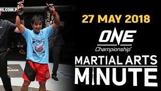 Martial Arts Minute   27 May 2018
