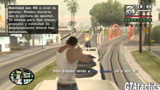 GTA San Andreas - Mision #17 - Wrong side of the tracks - Tutorial