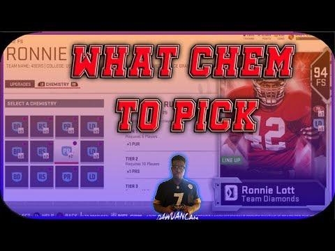 BEST CHEMISTRY TO USE IN MADDEN 19! BEST SCHEME AND ABILITY CHEMS