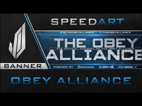 Obey Alliance Banner (Designer Recruitment Challenge)