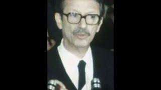 سخنرانیِ دکتر شاپور بختیار به هنگام معارفه در مجلس سنا - دیماه 2537