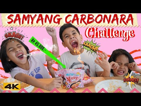THEREMPONGS SAMYANG CARBONARA CHALLENGE