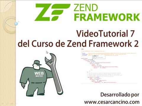 VideoTutorial 7 del Curso de Zend Framework 2 ( ZF2 ). Creación de Modelos