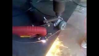 cyrkiel do przecinarki plazmowej z napędem