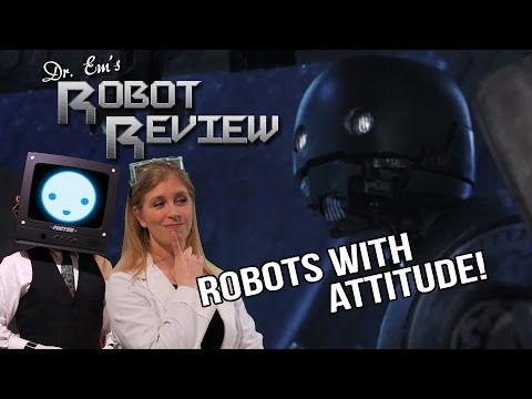 K2SO vs. Marvin!  [ROBOT REVIEW!] Rogue One: A Star Wars Story (2016) Hitchhiker's Guide (2005)