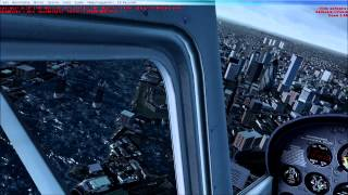 [FSX HD] FTX EU England Test Flight on London with maxed out graphics