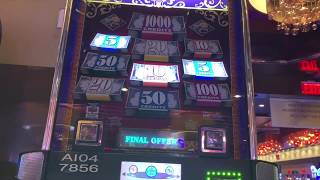 Wheel Of Fortune - Double Top Dollar $50/Spin - High Limit - Triple Double Diamond