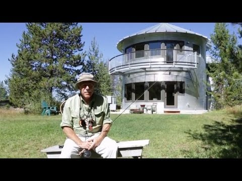 Fisherman's Riverfront Paradise Silo Home In Utah