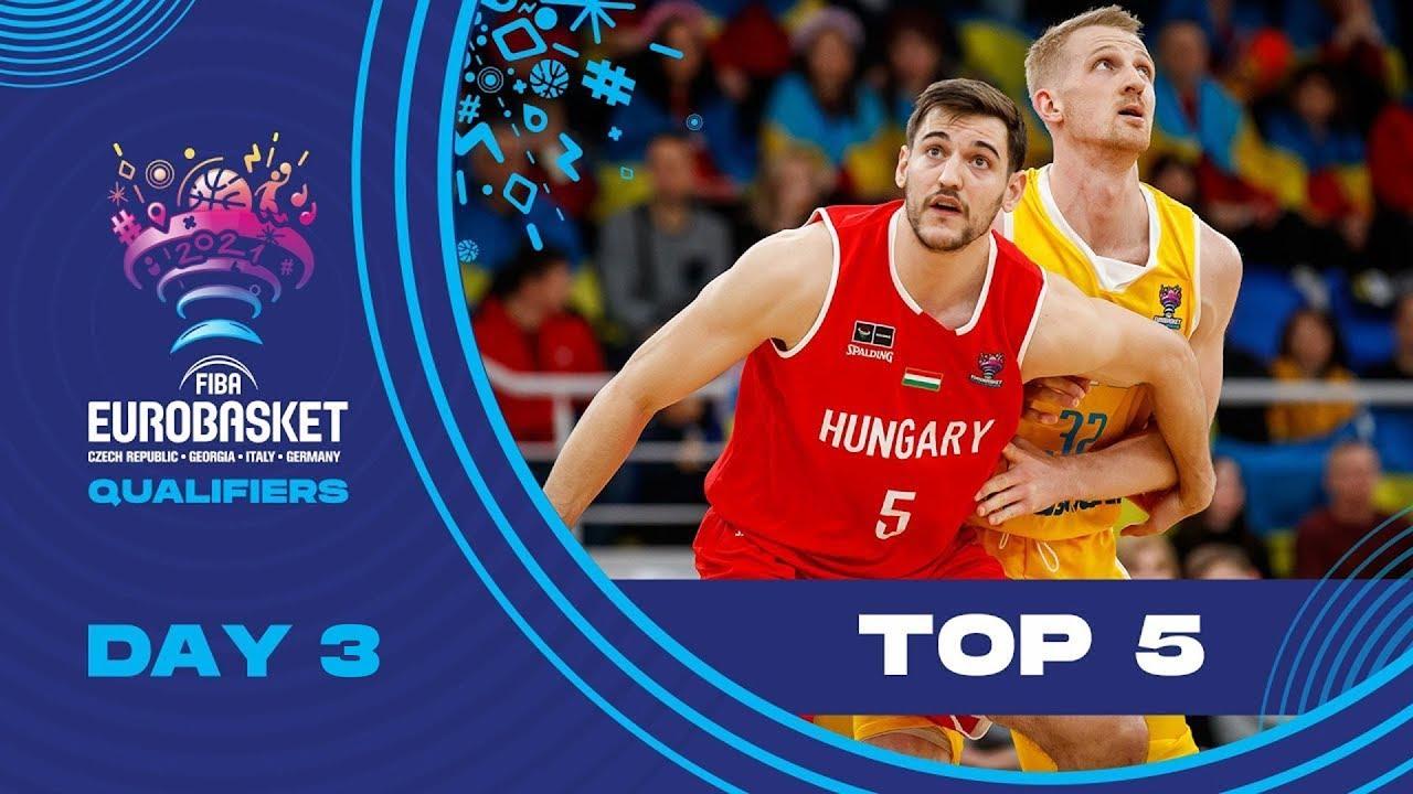 Nike Top 5 Plays | Game Day 2 (Sunday) | FIBA Eurobasket 2022