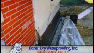 Bone-Dry Waterproofing - Best waterproofing company. Louisville, KY