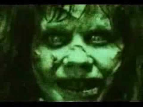 Exorcist girl screaming youtube for Silla que se mueve