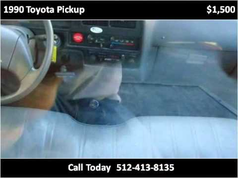 1990 Toyota Pickup Available From Texas Central Motors
