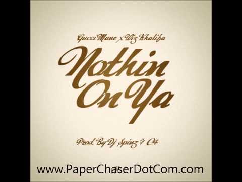 Gucci Mane Ft. Wiz Khalifa - Nuthin On Ya [2013 New CDQ Dirty NO DJ] Trap God 2