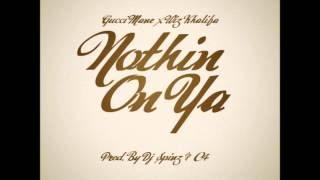 Gucci Mane Ft. Wiz Khalifa - Nuthin On Ya [2013 New CDQ Dirty NO DJ] Trap God 2