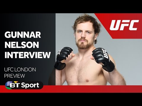 UFC London: Gunnar Nelson exclusive interview