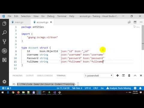 HTTP Basic Authentication with Middleware and BCrypt and MongoDB in Golang thumbnail