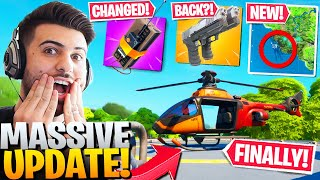 Everything EPIC Didn't Tell You In The *HUGE* HELICOPTER Update! (Fortnite Battle Royale Season 2)
