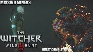 The Witcher 3: Wild Hunt - Let's Play - Missing Miners