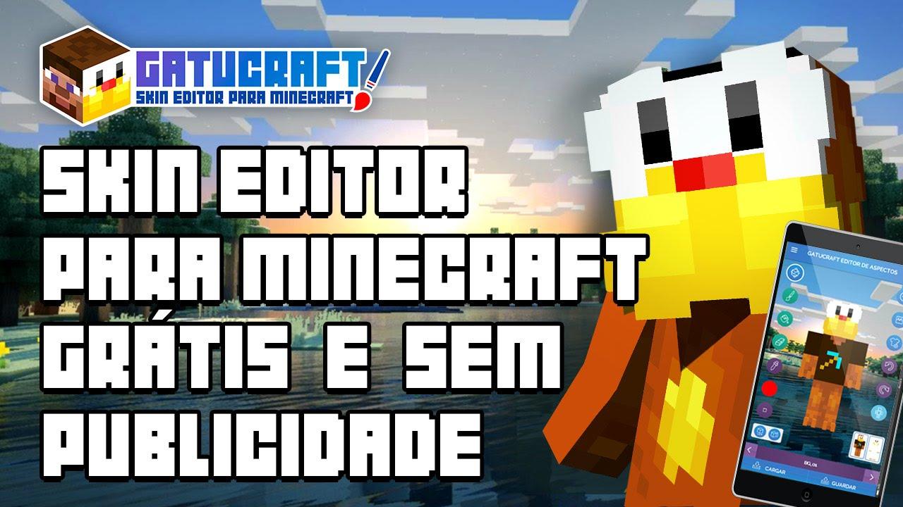 Editor De Skins Para Minecraft YouTube - Skin para minecraft or