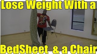 Bed Sheet Workout #1 - Home Weight Loss Workout