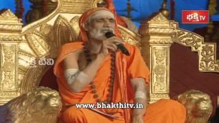 Sri Sri Vidyaranya Bharathi Swami ji Spiritual Speech at Koti Deepothsavam 2015 - 10th Day
