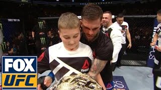 Cody Garbrandt wasn't the only one whose dream came true at UFC 207 |  @TheBuzzer | UFC ON FOX