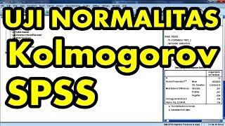 Uji Normalitas Kolmogorov Smirnov dengan SPSS Full Edisi