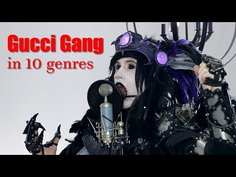 Lil Pump -  Gucci Gang  (Performed in 10 Genres)
