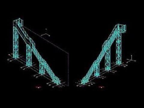 Planos de estructuras metalicas dwg youtube - Estructura metalicas para casas ...