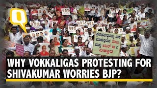 Why 35,000 Vokkaligas Marching For DK Shivakumar A Concern for BJP | The Quint