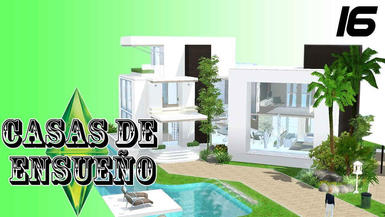 Casas de ensue o casa 16 serie sims 3 descarga youtube for Casa de diseno sims freeplay
