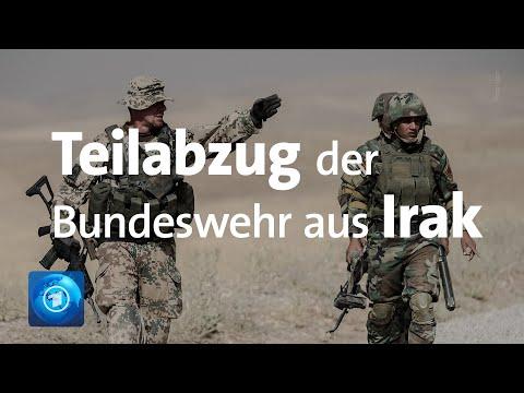 Teil Der Bundeswehr Zieht Aus Irak Ab