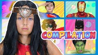 Superheroes! | Compilation | WigglePop