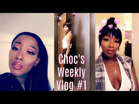 Choc's Weekly Vlog #1: Handling Business, Holiday Party, Shopping,Etc.