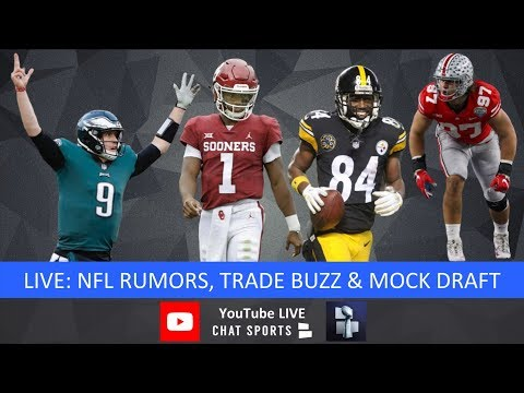 NFL Daily: News, Free Agency, And Draft With Tom Downey And Mitchell Renz