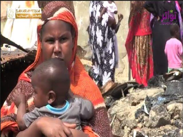 موريتانيا.. حريق في حي شعبي يشرد 38 أسرة - صحراء ميديا