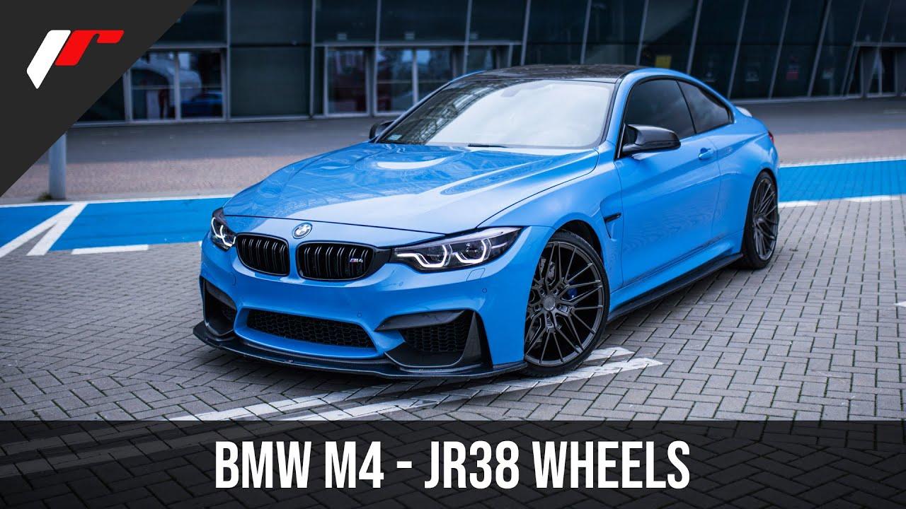 New Jr Wheels Jr38 Bmw M4 Youtube
