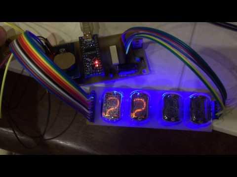 Nixie clock Arduino