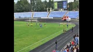 Буковина - Десна Чернигов 1-0 (Момент с назначеным пенальти)