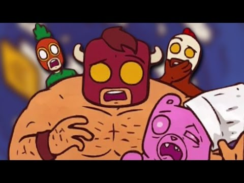 DEFEATING THE COOKINATOR! - Burrito Bison: Launcha Libre #5