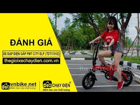 Đánh giá xe đạp điện gấp FMT CITY ELF (TDT1701Z)