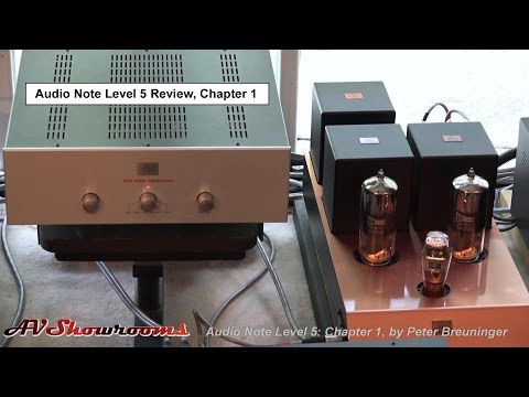 Audio Note Level 5 System Review Series, chapter 1, introduction with Vincent Belanger and Peter Bre