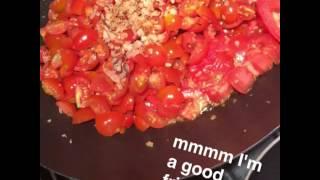 Ariana Grande Italian Vegan Sauce Recipe