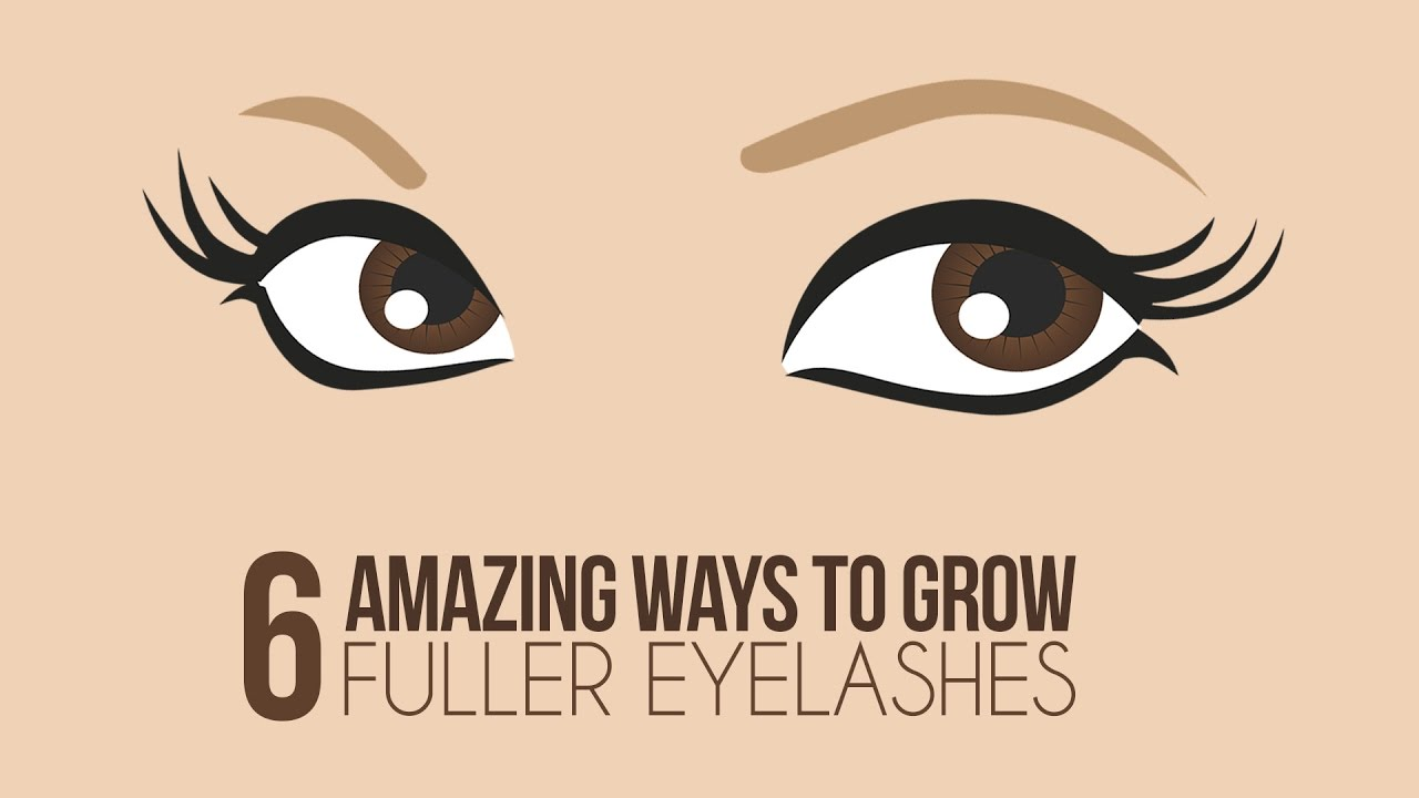 5aa52b1d5af 6 Ways To Naturally Grow Longer Eyelashes - Glamrs - YouTube