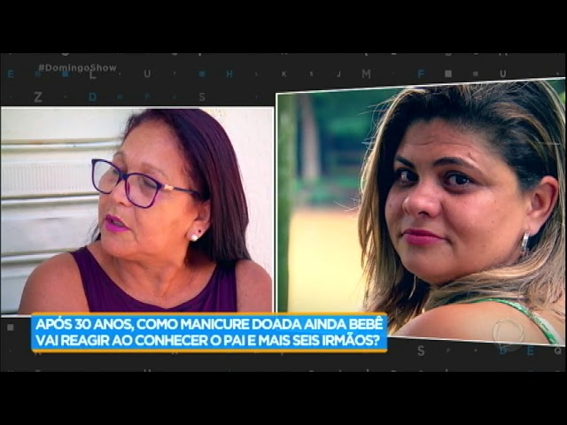 Mãe biológica relembra traumas que viveu por não ter criado Fabiana