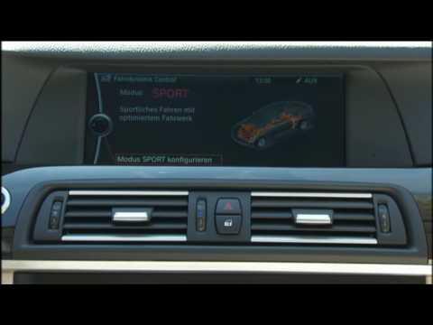 New BMW 5 Series Sedan - Dynamic Drive Control