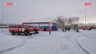 Елизовские пожарные отметили новоселье.