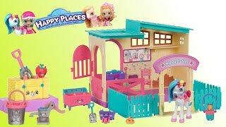 Shopkins Happy Places • Stadnina koni - Ponyville • bajki dla dzieci